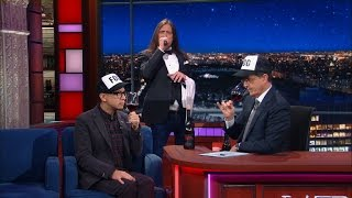 Fred Armisen Helps Stephen Review Foghat Wines