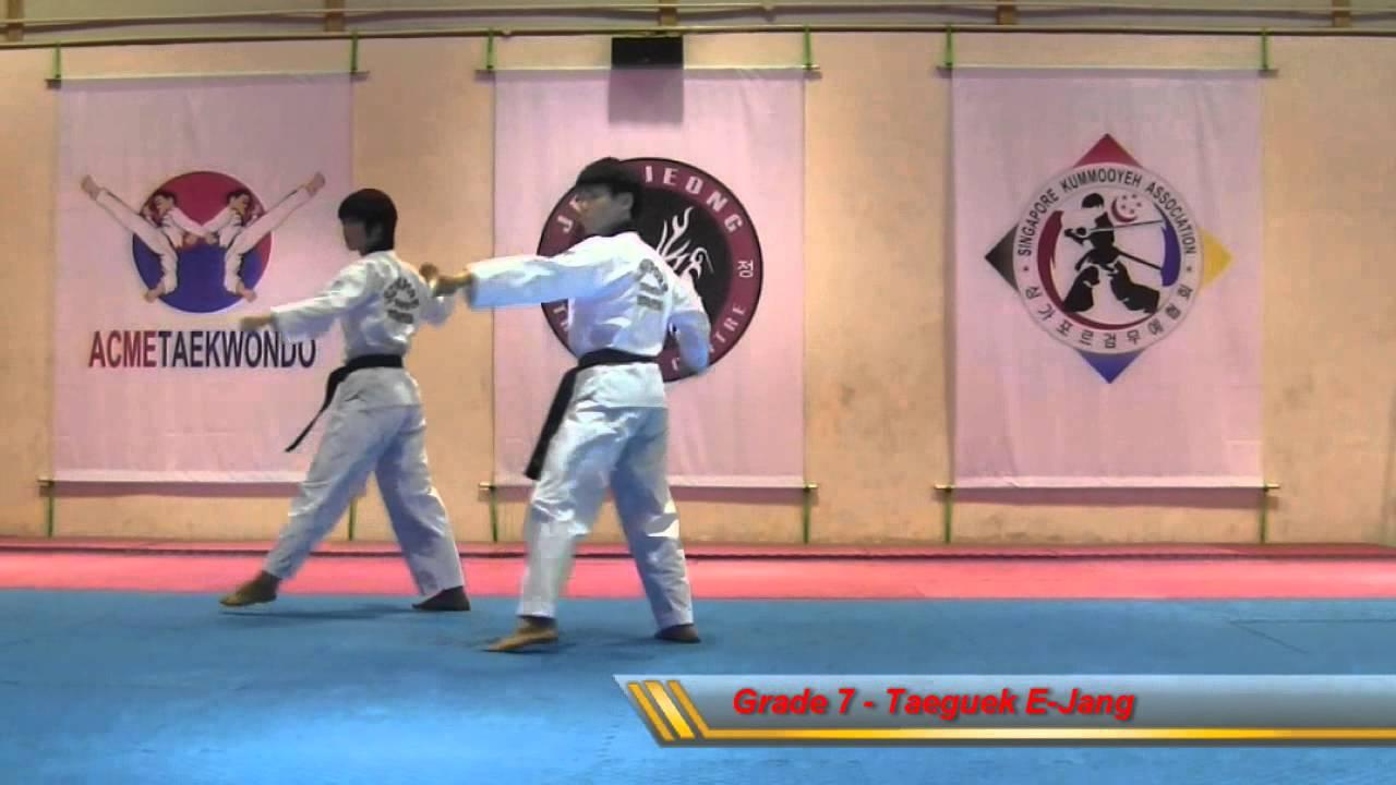 Taeguek il-Jang (Grade 7)