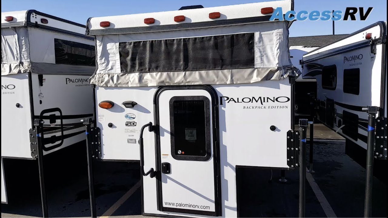 2019 Palomino SS500 / Real Lite 1600 Truck Camper Walkthrough