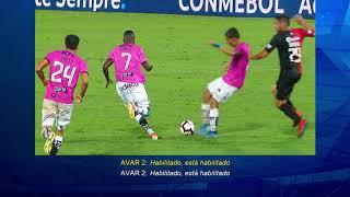 Independiente del Valle (ECU) vs Colón de Santa Fé (ARG) Min: 90'+5'