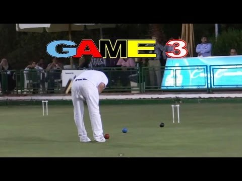 GAME 3 - Golf Croquet World Championship Final Bamford vs Nasr Cairo(HD)