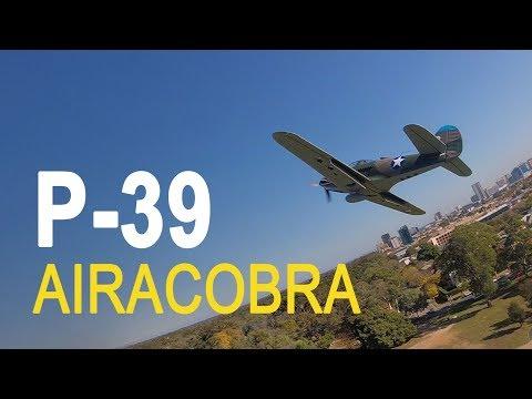 E flite P-39 Airacobra RC Warbird