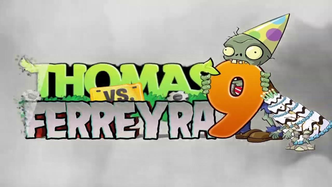 Tarjeta De Invitacion Virtual Thomy Planta Vs Zombie Youtube