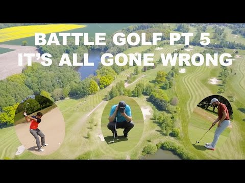 BATTLE GOLF PT 5 - IT'S ALL GONE WRONG - VALE ROYAL ABBEY GC