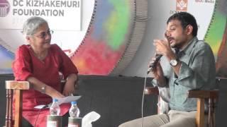 Githa Hariharan in Conversation with TM Krishna @ Kerala Literature Festival 2016