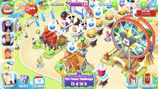 Tower challenge(Disney magic kingdom game ) 😉🙂😊