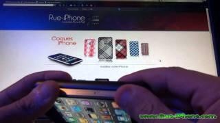coque iphone 4 SGP Soul Black vendu par Rue-iPhone.com