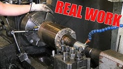 Electric Motor Shaft Repair | With Lathe, Welding Machine and CNC-Mill