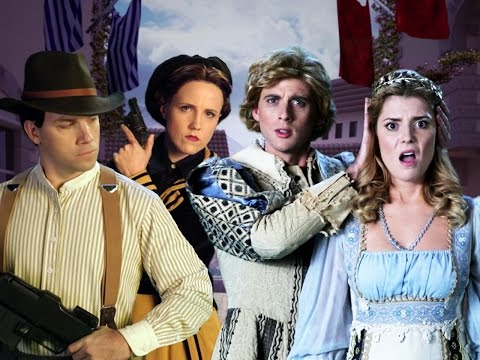 Romeo and Juliet vs Bonnie and Clyde. Epic Rap Battles of History