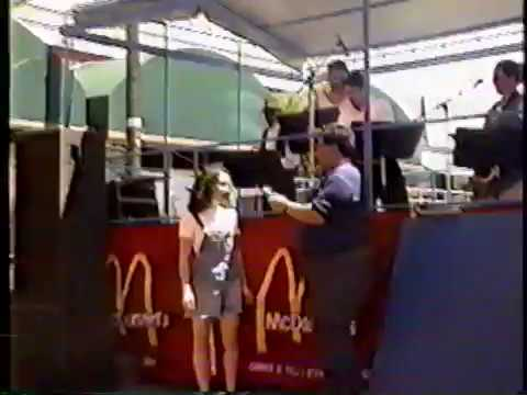Ceres High School Jazz Band at the 1996 Ceres Street Fair ...