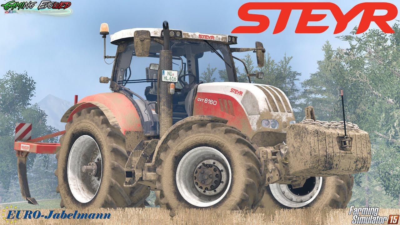 Farming Simulator 2015 Steyr Cvt 6160   Euro Jabelmann