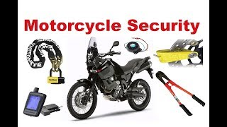 Top 8 tips to protect your motorcycle - Motorcycle Security Systems