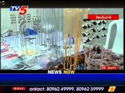 Tv5 Telugu News Handicrafts Exhibition Conducts At Vijayawada