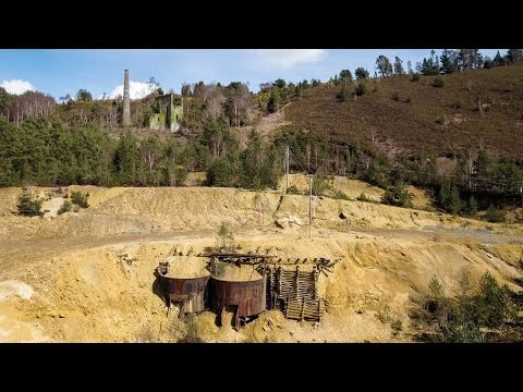The Mining Landscapes of County Wicklow by DJI Drone