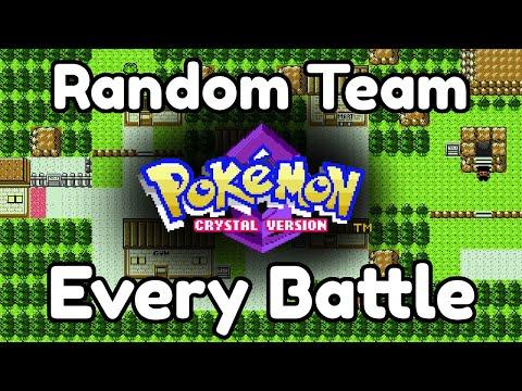 Team Randomizer - Pokemon Crystal (Pt. 1)
