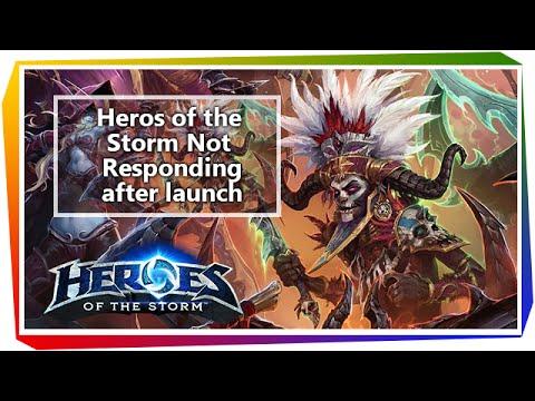 Heroes of the Storm game not responding • Tarantulo lt