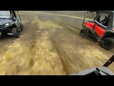 3-way Honda pioneer drag race (360)