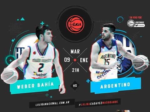 Liga Nacional: Weber Bahía vs. Argentino | #LaLigaEnTyCSports