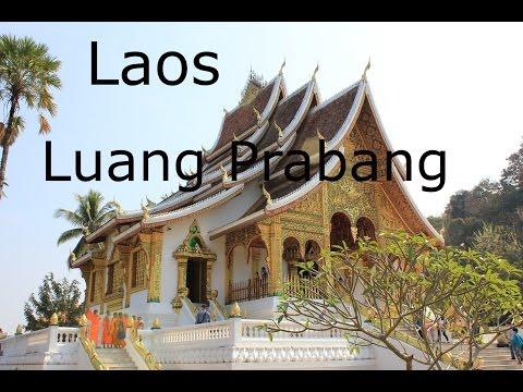 Laos - Luang Prabang : Vientiane to Luang Prabang, National Museum, Wat Xieng Thong & Mekong River