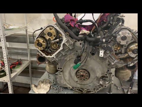 Фото к видео: 3.2 FSI печальный итог замены цепей...