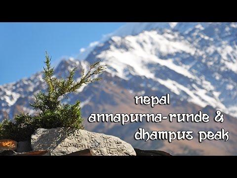 NEPAL- Annapurna-Runde & Dhampus Peak-Besteigung