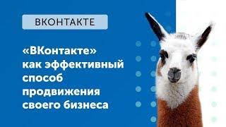 eLama:«ВКонтакте» как эффективный способ продвижения своего бизнеса от 30.08.2018