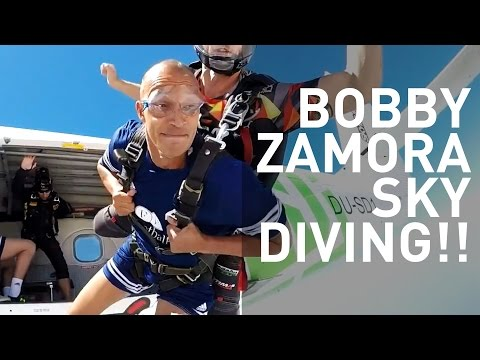 Bobby Zamora Sky Diving!