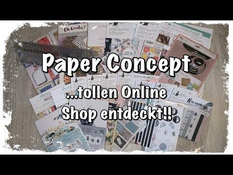 Paper Concept Online Scrapbook Haul (deutsch) basteln mit Papier, New Moon, DIY