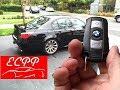 BMW E60 M5 Key Fob Function Tutorial