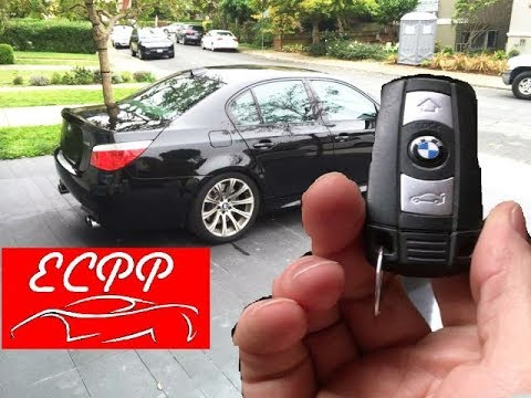 Bmw E60 M5 Key Fob Function Tutorial Youtube