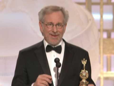 Steven Spielberg Receives Cecil B. DeMille Award - Golden Globes 2009