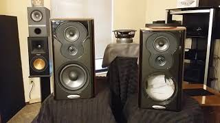 Polk Audio LSIM 703s -A tell it like it is indepth review , crazy freakish prices at Adorama.com