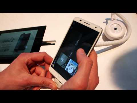 Demo del smartphone One Touch Idol 2S de Alcatel