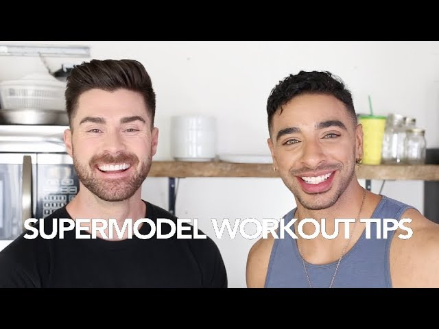 TIPS TO WORKOUT LIKE SUPERMODEL | FT. LAITH ASHLEY