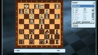 Kasparov Chessmate gameplay