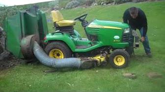 commercial diesel lawn mower high dump tip professional. Black Bedroom Furniture Sets. Home Design Ideas
