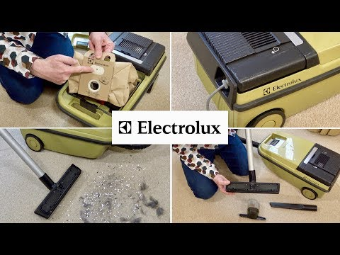 1980s Electrolux 350 Vacuum Cleaner Unboxing & First Look