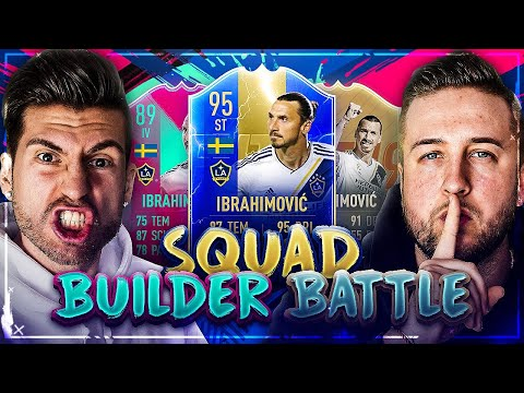 FIFA 19: Random IBRAHIMOVIC Squad Builder Battle VS Benji 😱🔥