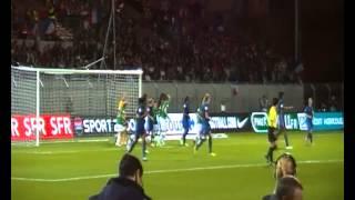 Fin du match France - Irlande au Roudourou, Guingamp