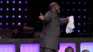 Marvin Winans Preaching at his Sisters Debbie Winans Lowe Church HD!