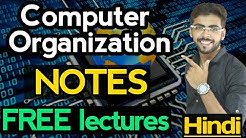 Computer Organization and Architecture in Hindi Introduction  | computer organization gate | CO 01