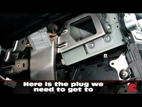 GROM USB Android iPhone Bluetooth Install into Acura TL 2004-2008, car stereo removal guide