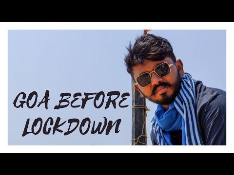 GOA Before lockdown   Goatourism   Best of Goa vlog 2020