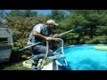 Ernest Cleans the Pool