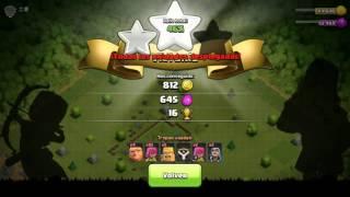 1 cap de serie:Clash of clans subiendo a liga de bronce 3