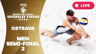 Ostrava 4-Star - 2018 FIVB Beach Volleyball World Tour - Men Semi Final 2
