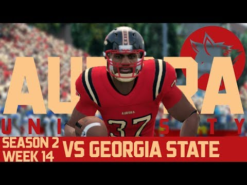 NCAA Football 14 | Aurora Dynasty - Season 2, Week 14 vs Georgia State
