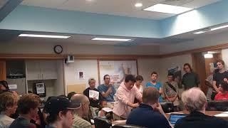 Cringey SJW Demands Free Shit @ Madison School Board Meeting