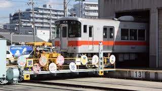 山陽電鉄トラバーサ引出(2018.10.27)