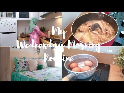 my-wednesday-morning-routine- -beres2-kamar-ganti-sprei-masak-opor-ayam